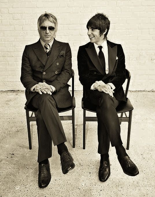 Paul Weller and Miles Kane (my dad and my boyfriend)...