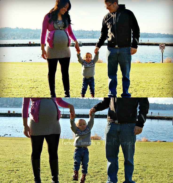 theLaotianCommotion.com: Seattle Family Maternity Photo with toddler