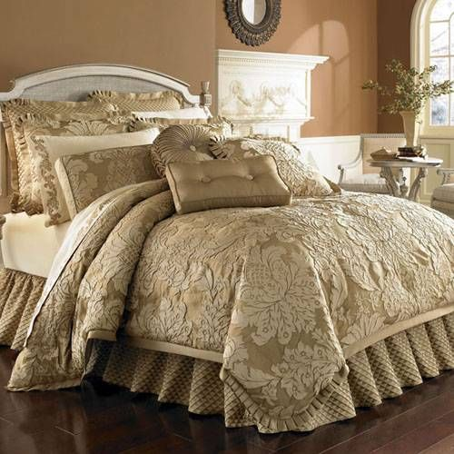 #Contessa Gold Bedding by J. Queen New York A luxury ...