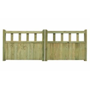 Grange Planed Timber Driveway Gate (H)900mm Grange Planed Timber Driveway Gate (H)900mm (W)2400mm.This driveway gate is made of planed timber and will look great in any outdoor space. Its pressure treated treatment has been applied to protect a http://www.MightGet.com/april-2017-1/grange-planed-timber-driveway-gate-h-900mm.asp