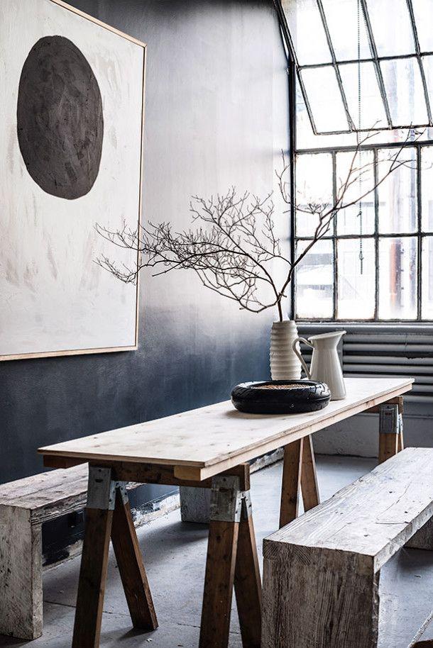 17 meilleures images à propos de Salles à manger sur Pinterest - peinture sur meuble bois