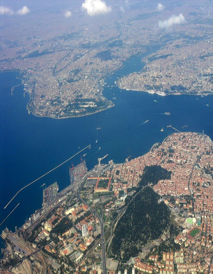 ✿ ❤ Heart Of Istanbul From Air.