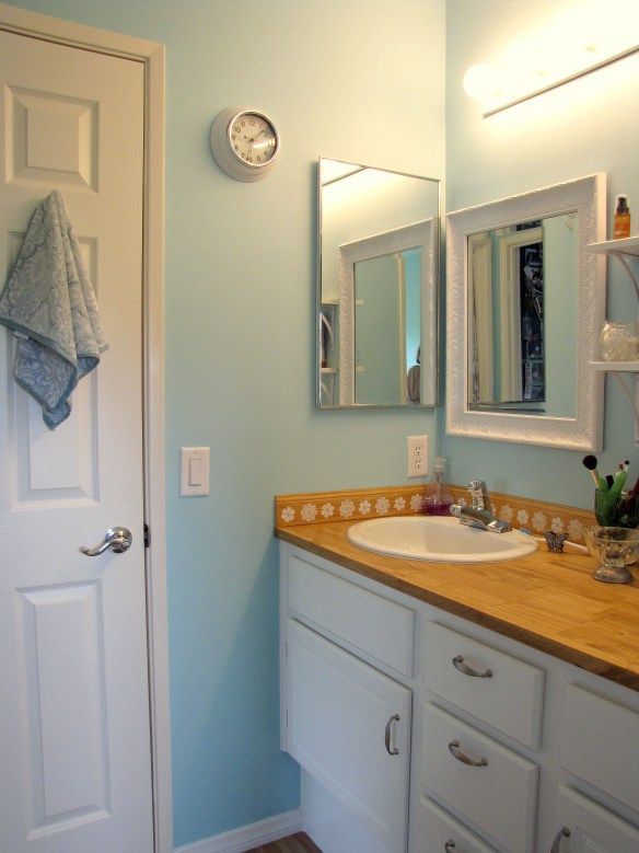Bathroom remodel on the cheap Great Paint Ideas