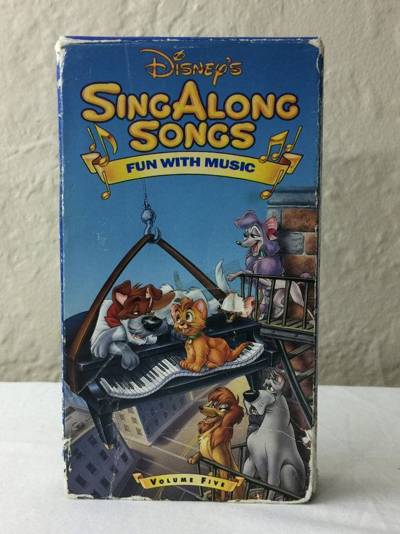 Disney Fun With Music Volume Five Sing Along Songs Vhs
