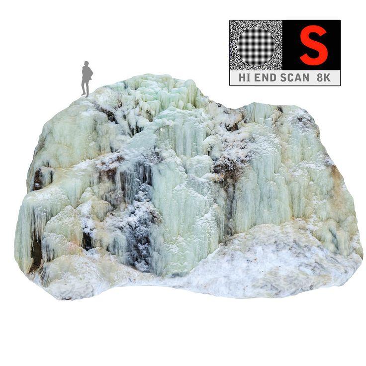 icefall phenomenon nature pack 3d obj