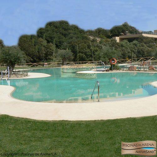 Mejores 33 im genes de piscinas de arena en espa a en - Piscina de arena compactada ...