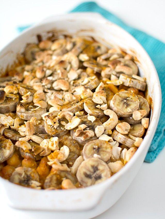 Vegetarisk Flygande Jakob Recept av: Sara Middag, Vegetarisk oktober 4, 2014 0.0 4 port. 0 Instruktioner Sätt ugnen på 225°. Lägg avrunna kikärter i en ugnsfast form. Blanda grädde och chilisås med curry, salt och peppar och häll detta över kikärterna. Strö över nötterna och skivor av banan. Pudra eventuellt över lite extra curry. Gratinera mitt …