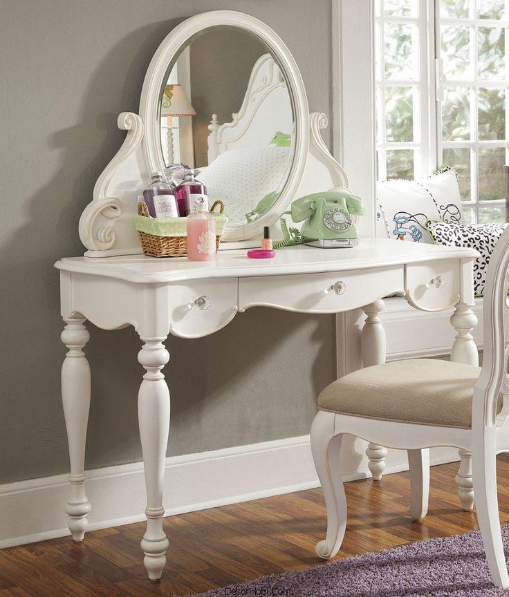 44 best MAKYAJ MASASI images on Pinterest Home, Vanity tables - vanity ideas for bedroom