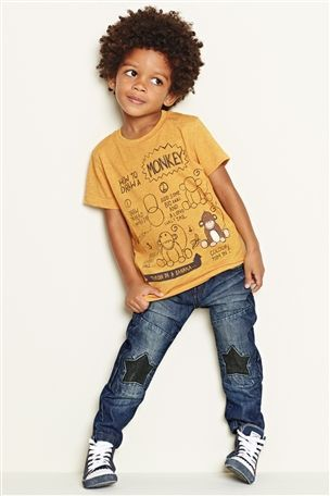 Buy 'How To Draw A Monkey' T-Shirt (3mths-6yrs) from the Next UK online shop