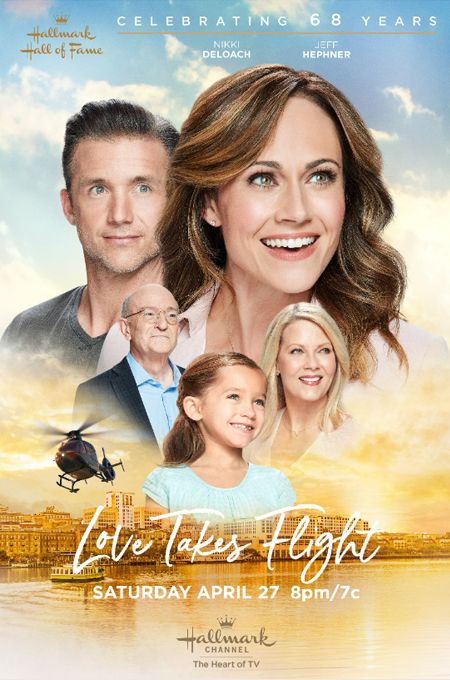 "Its a Wonderful Movie – Your Guide to Family and Christmas Movies on TV: ""Love Takes Flight"" – a Hallmark Hall of Fame Movie starring Nikki DeLoach an…"