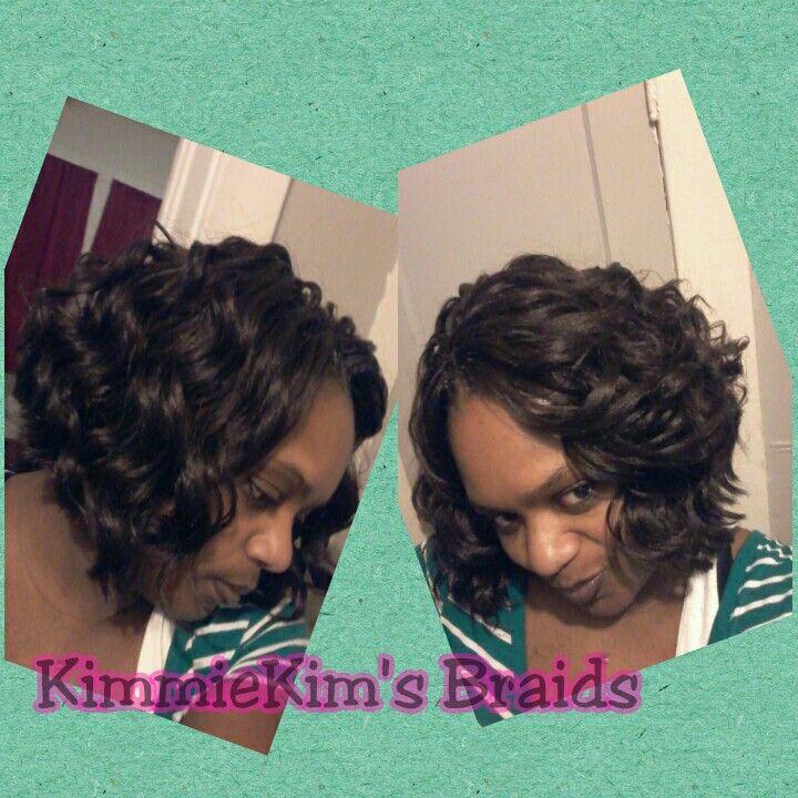 Crochet Braids Kima Ocean Wave : Crochet Kima Ocean Wave , cut into a bob like style hairstyles ...