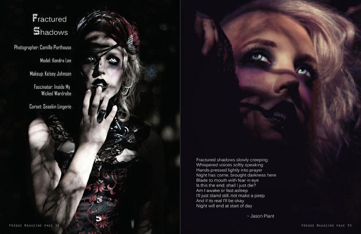 Freque Magazine  www.frequemagazine.com  unique avant garde fashion, beauty, glamour, body-art and conceptual photography magazine.