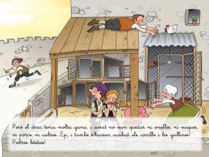 El conte de sant Jordi interactiu, amb jocs,..