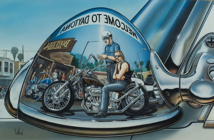 David Mann - Motorcycle Art: Harley Davidson, Dave Mann, Artworks Biographies, Motorcycles Artworks, Mann Originals, Mann Art, David Mann, Biker Art, Artists David