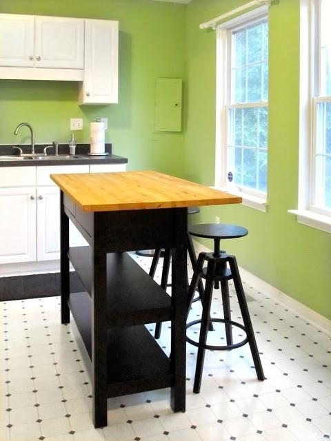 Ikea Kitchen Island Hack Home Improvement Pinterest