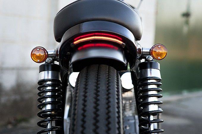 The Devil Wears Prada's Honda CB350