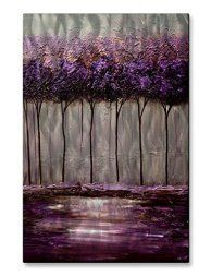 Purple wall art is funky, cute and currently trendy.  You can see how popular purple home wall art décor  is on home décor shows on TV, Online and even in your own community.  Additionally purple wall art is truly  charming and pretty.  #purple       All My Walls Metal Wall Art Decor Contemporary Abstract Purple
