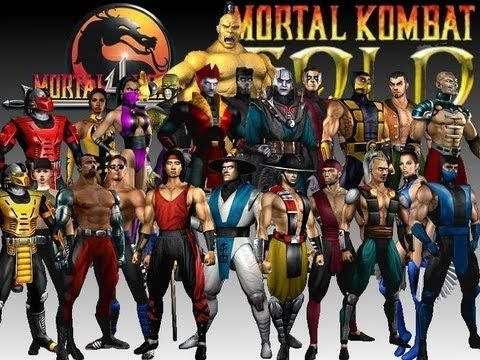 Mortal Kombat Gold - All Ending Cutscenes  (HD)