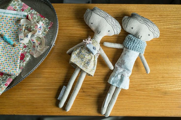 Dolls handmade by Kosi Łapci Toys   Fot. studiomilosc.pl