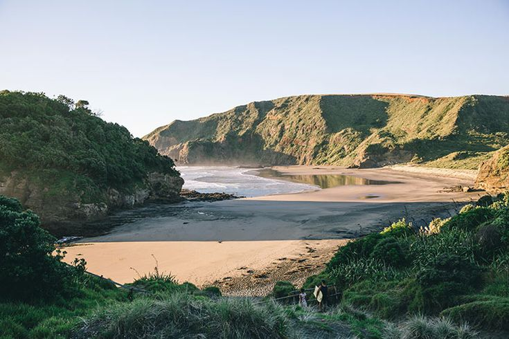 O'Neills beach over the hill from Bethell, NZ
