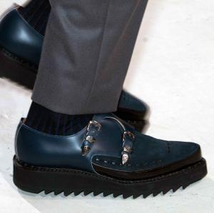 A/W 14/15 men's catwalk trend flash: heavy soles