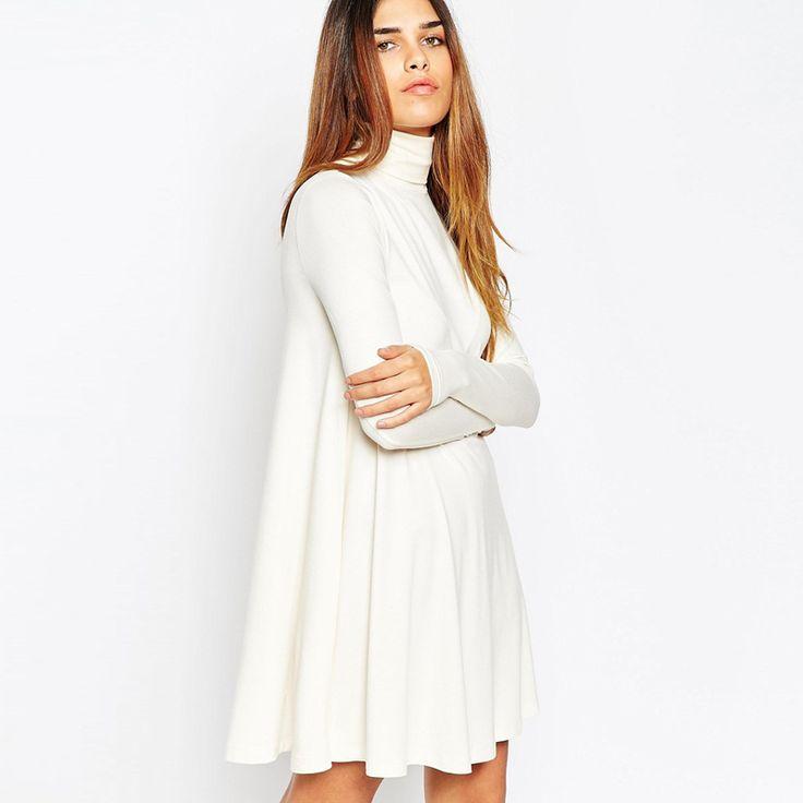 17 Best ideas about White Turtleneck Dress on Pinterest   Kendall ...