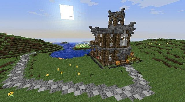Minecraft chunk house - Planetminecraft com ...