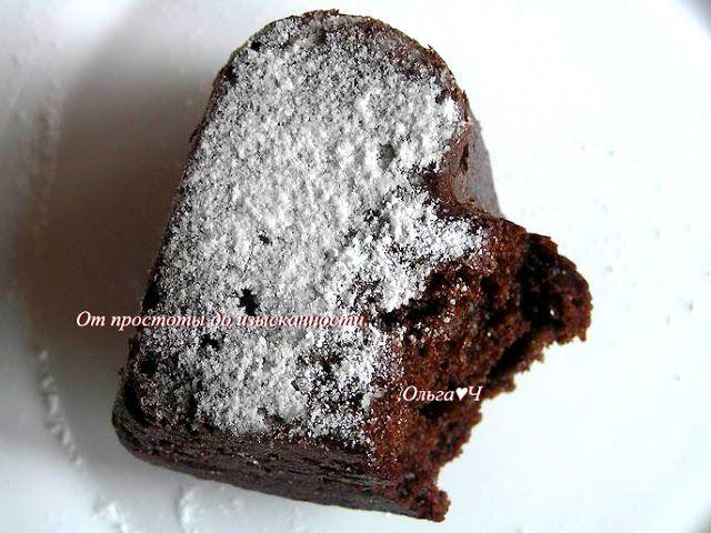 От   простоты   до   изысканности...: Шоколадно-клубничные кексы или торт
