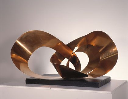Barbara Hepworth  Forms in Movement (Galliard)  Copper, 1956