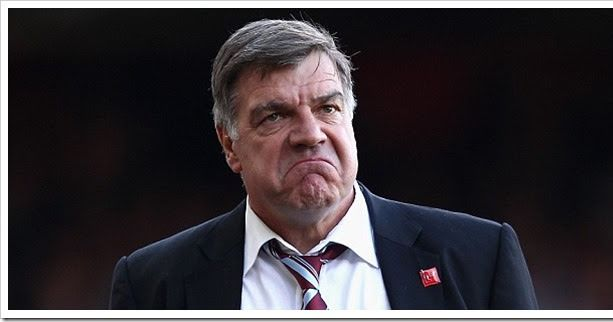 Sam Allardyce. (Credit Match Pint ).       Following allegations from the 'Telegraph' earlier, 'Big Sam' has announced he will now be ste...