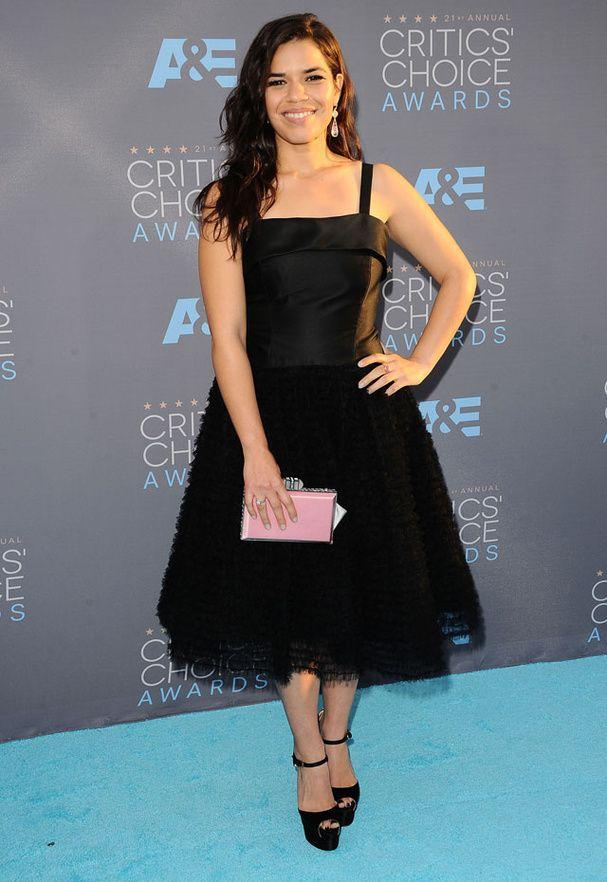 America Ferrera au Critic's Choice Awards 2016