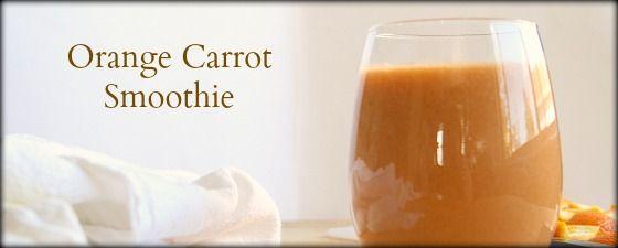 Orange Carrot Smoothie