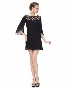 Fashion Half Sleeve Short Party Dress