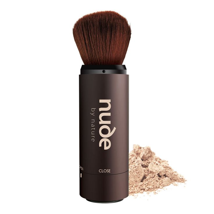 Travel Makeup Brush - Convenient synthetic hair travel brush that you can take anywhere - no mess, no fuss! Refillable so you can use all your favourite Nude powders on the go. https://www.nudebynature.com.au/shop/brushes-tools/nude-on-the-go-refillable-travel-brush/?utm_source=pinterest.com%2Fnudebynature&utm_medium=pinterest&utm_content=on-the-go-refillable-travel-brush&utm_campaign=pinterest-product-boards