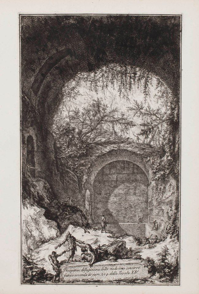1000 images about giovanni battista piranesi on pinterest - Piscina san giovanni roma ...