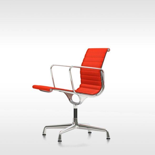 Vitra stoel Aluminium Chair EA 108 stof door Charles & Ray Eames
