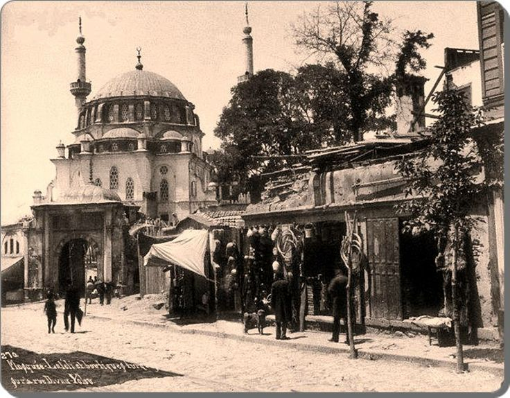 Aksaray - Laleli Camii - 1880's