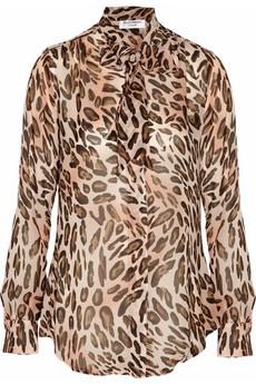 Leopard-print chiffon blouse. Under 20.00!!: Chiffon Blouses, Leopard Print, Leopards Prints Chiffon, Blouses 79, Animal Prints, Leopardprint Chiffon, Berman Leopards Prints, Helen Berman, Berman Leopardprint