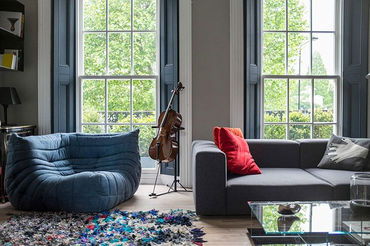 """This magnificent London townhouse was built in the 19th century, but designers from <a href=""""http://www.undercoverarchitecture.com/Architecture/Morningt ..."""