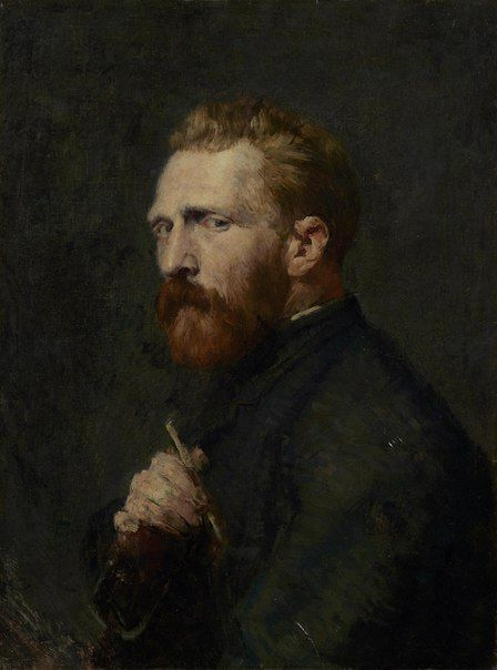 John Peter Russell Portrait of Vincent van Gogh, 1886