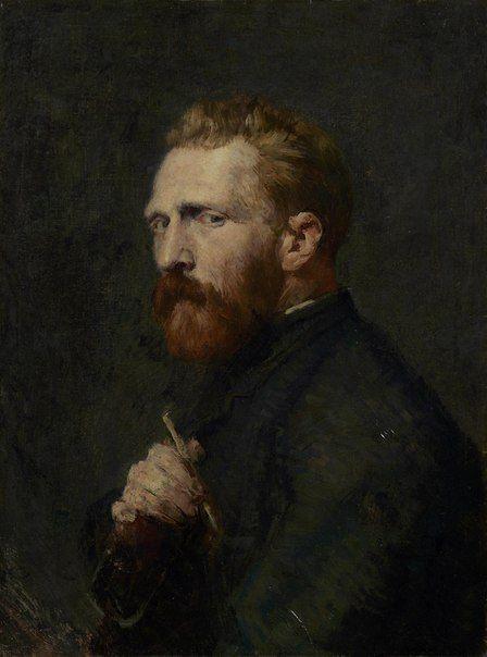 John Peter Russell Portrait of Vincent van Gogh, 1886