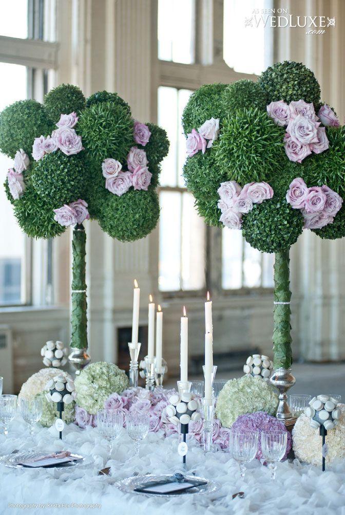 Gorgeous idea! Krista Fox Photography; D Floral Designs inc