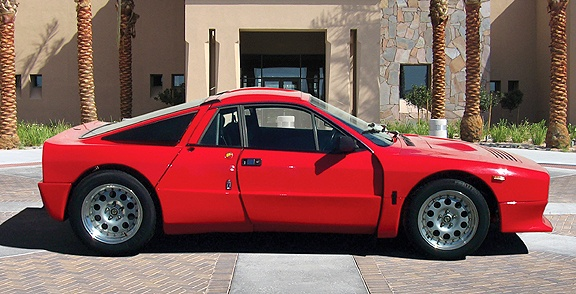 Lancia 037 Stradale. For approval in Group B Rally it was necessary to build at least 200 road versions. Here's a road version!