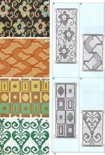 annadrianna - «Biblioteca del reticolo a schede perforate Knitters № gennaio 1973» su Yandex