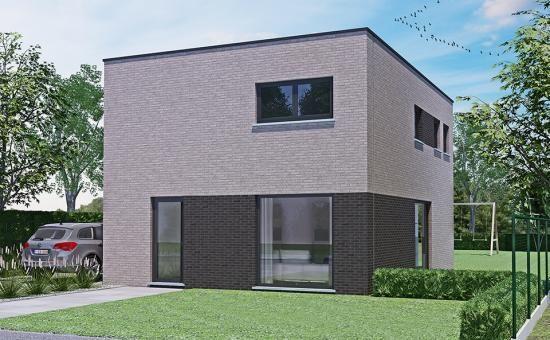 Realisatie thuis best woningbouw ben woning modern type a verdieping eigen woning bouwen - Moderne verdieping ...