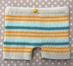 Love this #free knitting pattern for an easy baby knit!