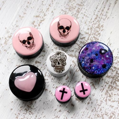 Unfortunately these are plugs and not just regular ear rings. Other wise I would totally want them..