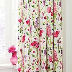 Sanderson - Multicoloured 'Spring flowers' curtains