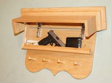 70+ cool hidden gun storage furniture ideas (68)