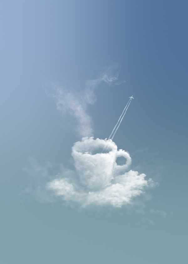 Clouds for Toulouse Blagnac Airport by pixteur - Jesse Zamjahn, via Behance